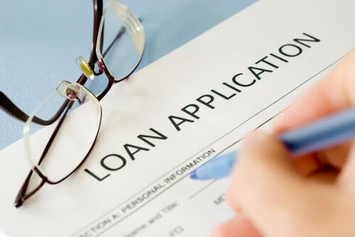 a personal loan application form
