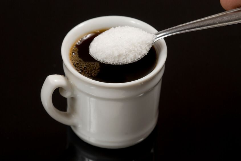 a spoonful of artificial sweetener