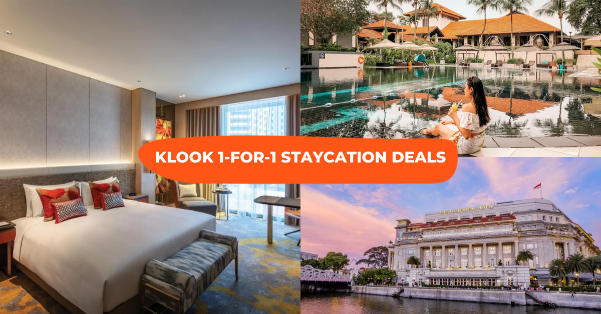 Klook Staycation Deals: 1-For-1 Packages With Breakfast & Club Access From $165/Night