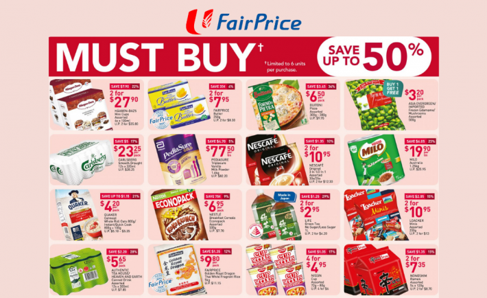 FairPrice Weekly Deals 11 March 2021