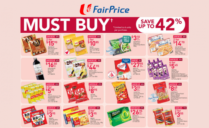 FairPrice Weekly Deals 4 March 2021