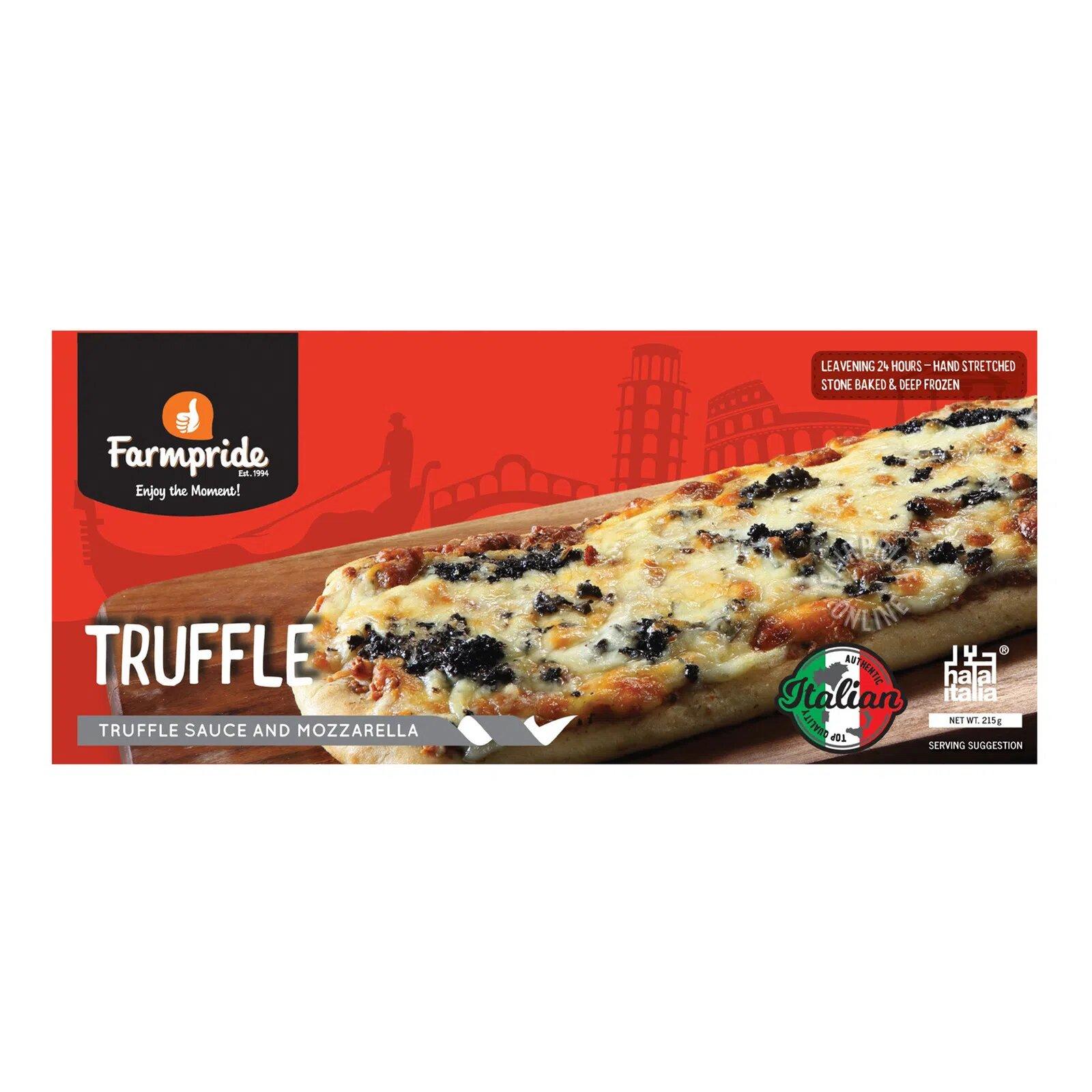 Farmpride Stone Baked & Frozen Pizza - Truffle