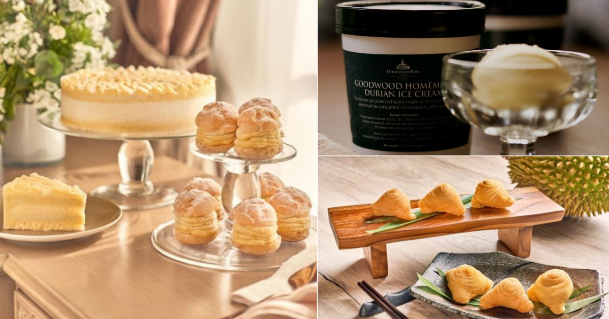 Durian Fiesta 2021 At Goodwood Park Hotel Has Deep Fried D24 Durian Pastry, D24 Pandan Waffle Cake & More (8 Mar - 1 Aug 2021)