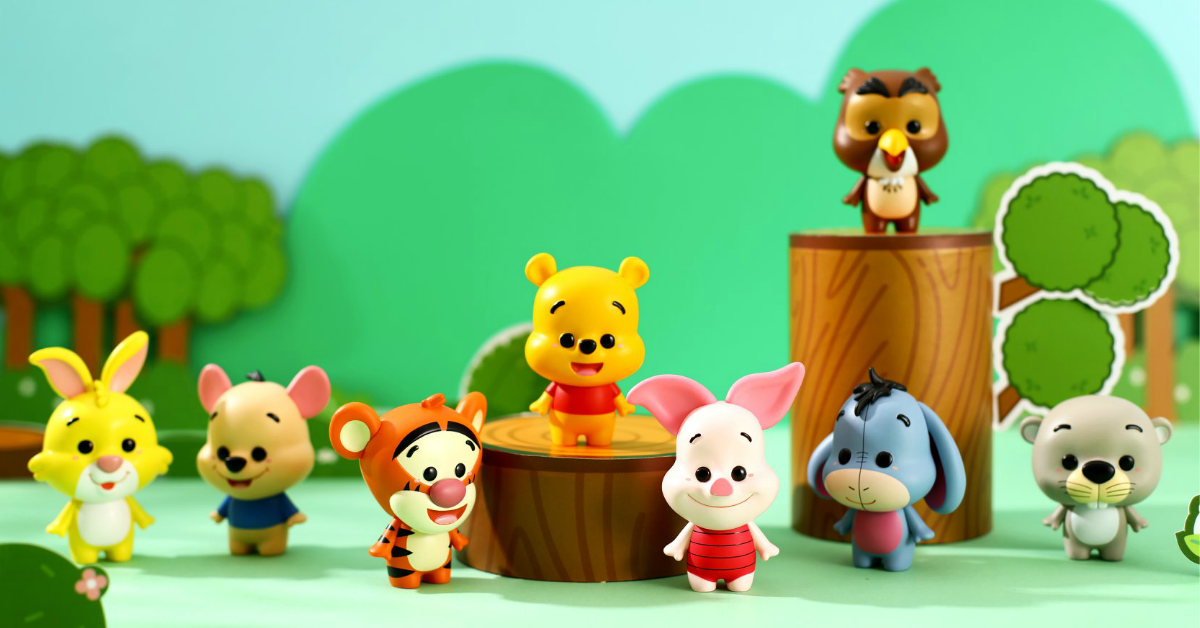 Miniso S'pore launching Winnie the Pooh and his Friends Blind Box Collection on 19 March 2021