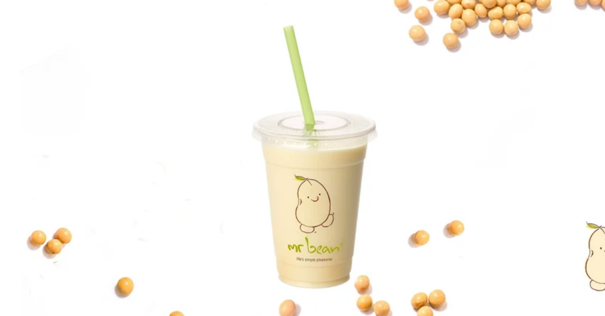 Mr Bean Soya Milk will be selling for $1/cup on 1 April 2021
