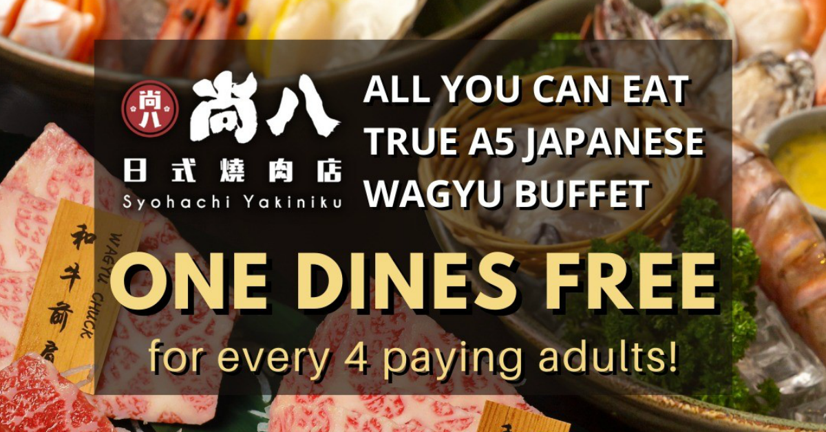 ALL YOU CAN EAT A5 Japanese Wagyu Beef, for FREE!