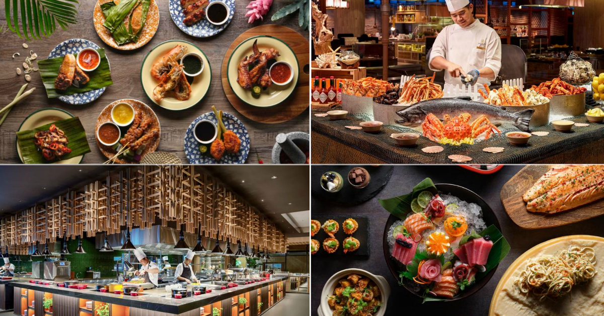 Lady dines free at four participating restaurants by Pan Pacific Hotels Group from 8 to 12 Mar 21, one redemption per table per bill
