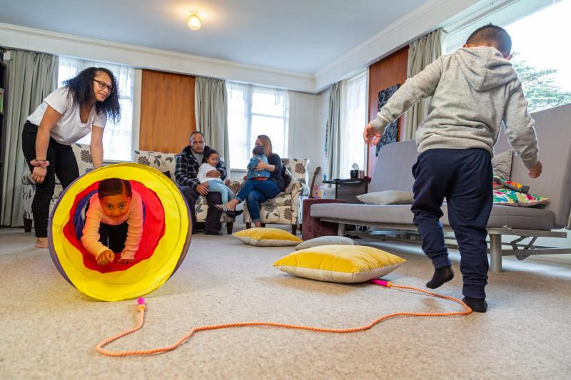 obstacle course at home for kids