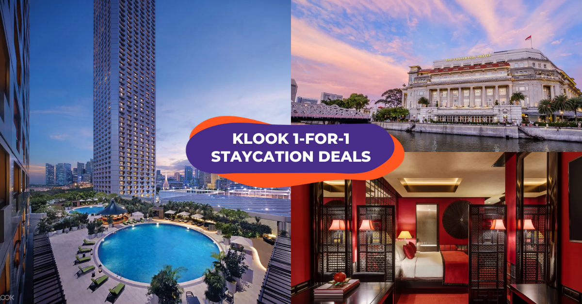 Klook March Staycation Deals: 1-For-1 Packages With Breakfast, Free Upgrades & Club Access