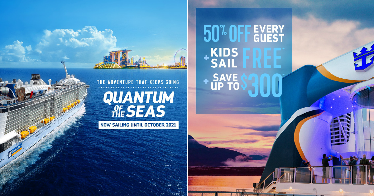Royal Caribbean extends sailing season in Singapore, offers 50% off cruise fares and free cruise fare for kids