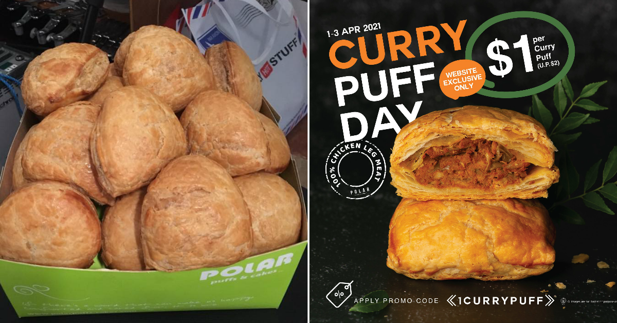 Polar Curry Puffs Going For $1 Each When You Order A Set From 1 - 3 April 2021