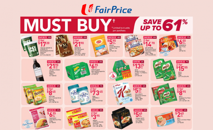 FairPrice Weekly Deals 1 April 2021