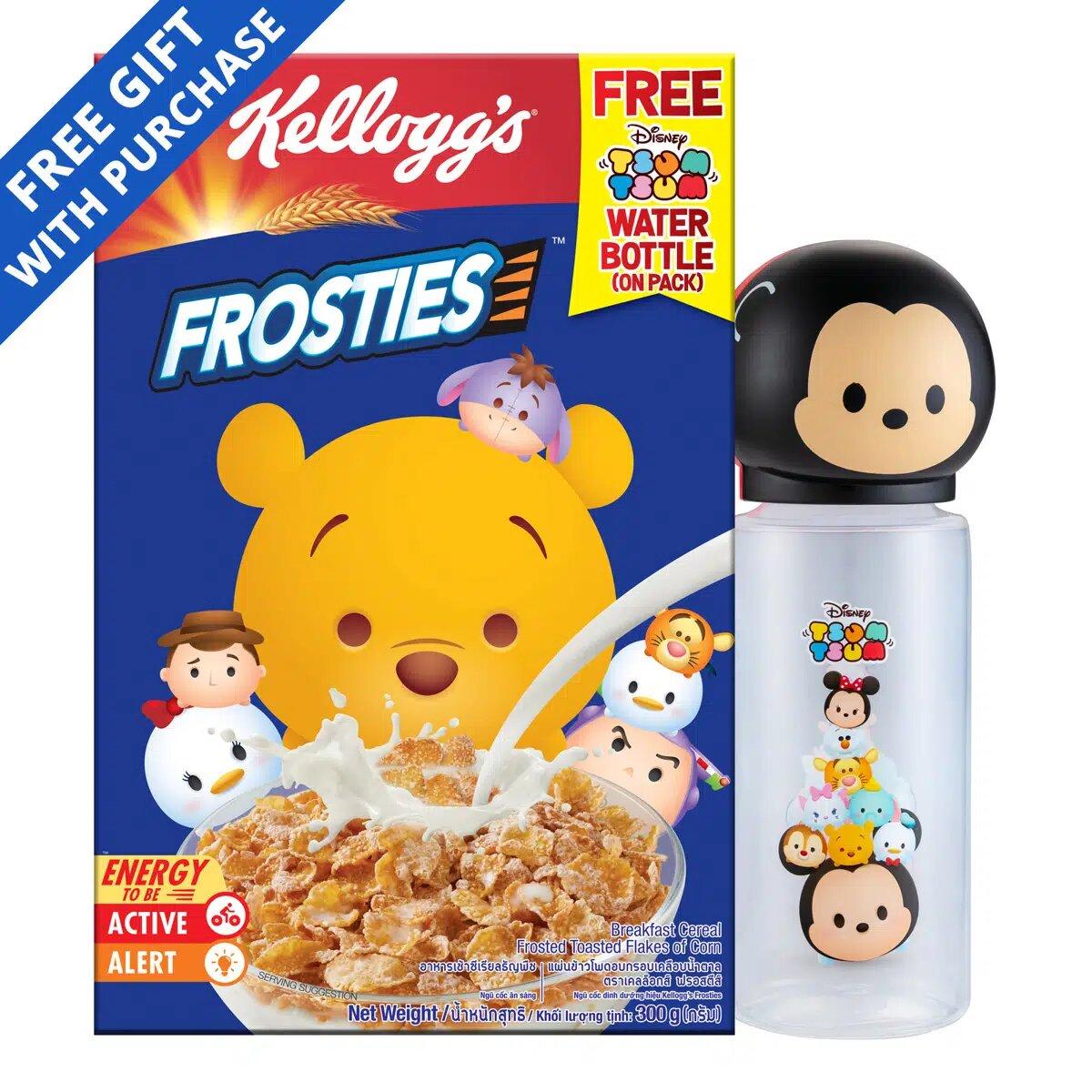 Kellogg's Cereal - Frosties + Free Tsum Water Bottle