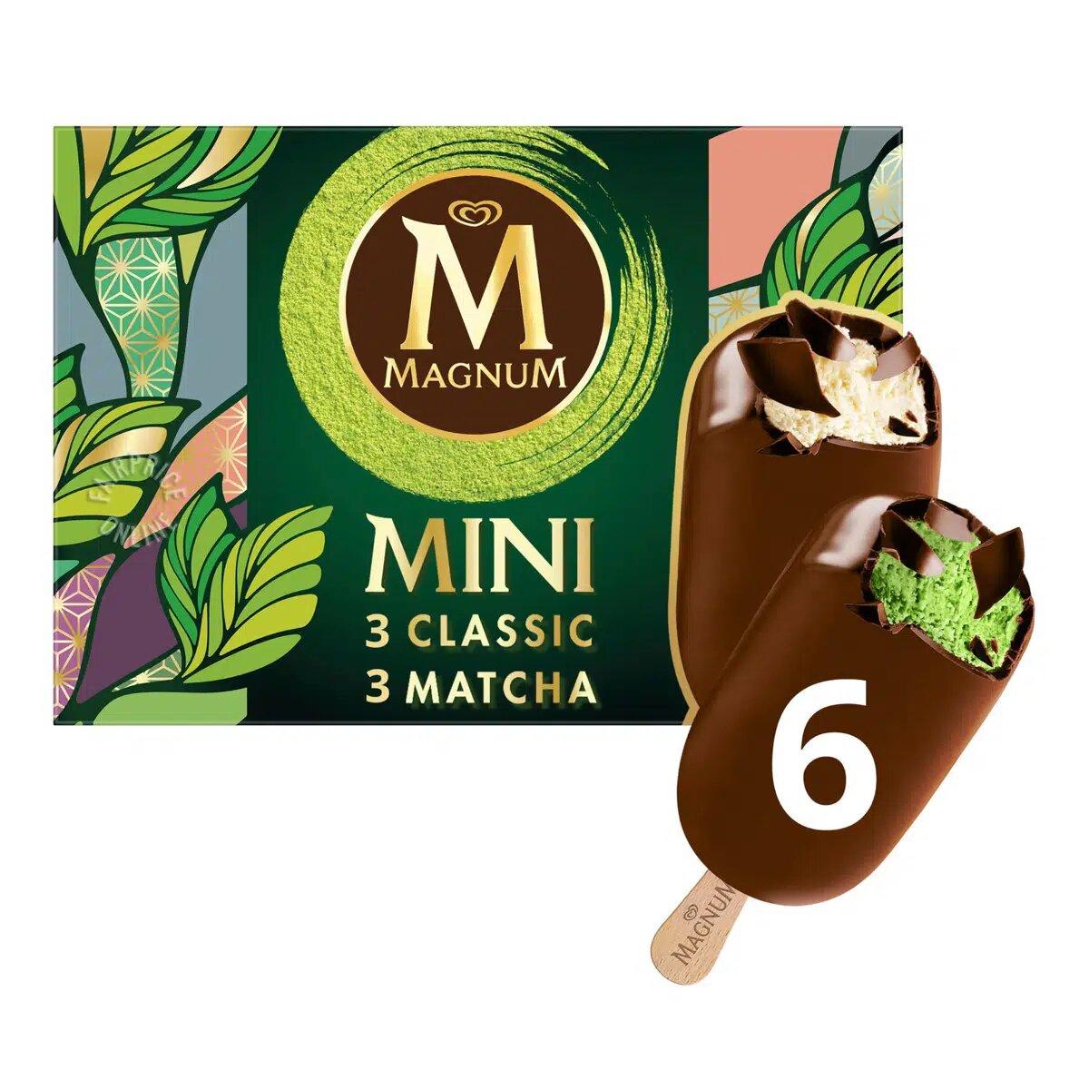 Magnum Mini Ice Cream - Classic & Matcha