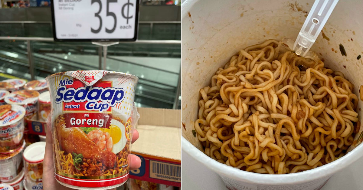 FairPrice selling Mi Goreng Instant Cup Noodles at $0.35 each from now till 31 May 2021