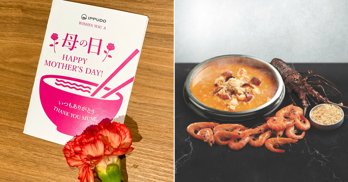 Ultimate guide to Mother's Day Deals: 50% OFF Lobster Noodles, up to 42% off at Paradise Group of Restaurants and many more!