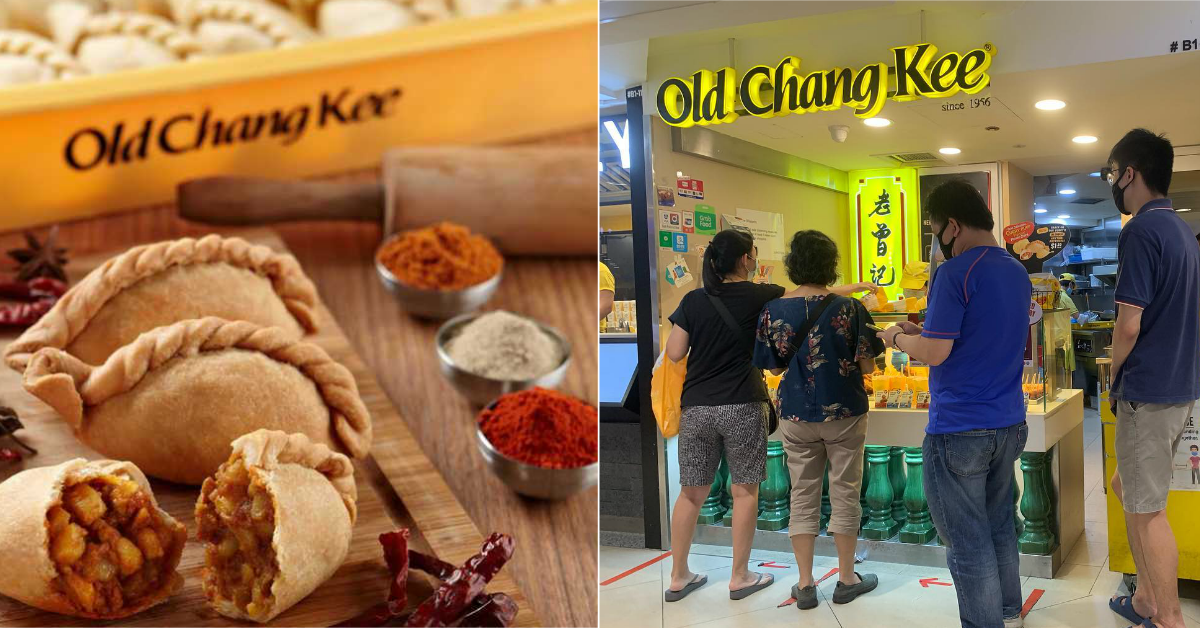 Free 3 x Old Chang Kee Curry Puffs For DBS/POSB Cardmembers & DBS PayLah! Users From Now Till 30 Sep 2021