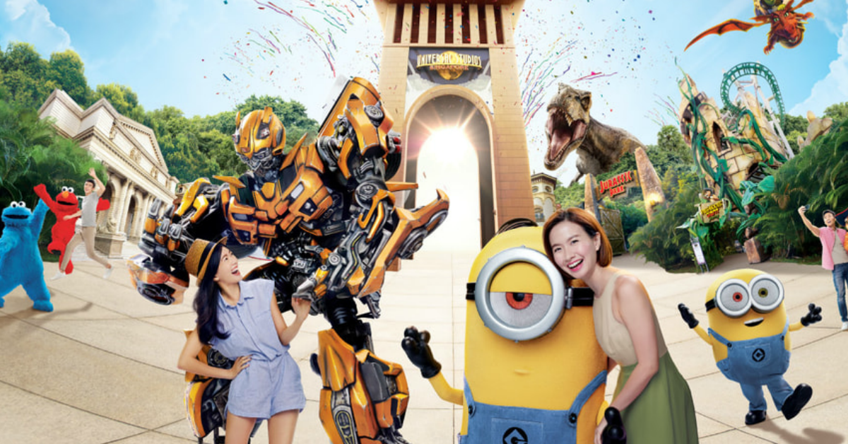 Universal Studios Singapore Adult Ticket Cost Only $44 Each (U.P. $81) When You Buy 3