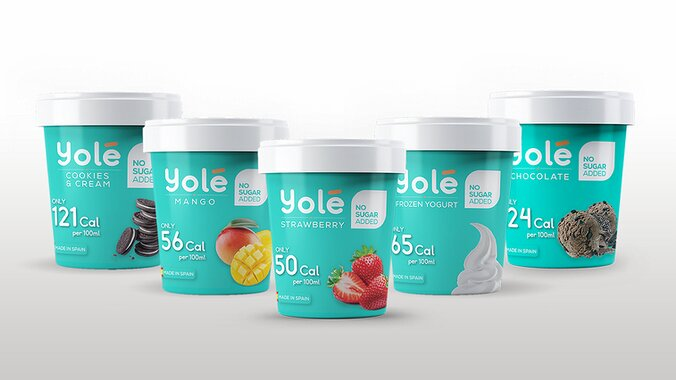 Yolé Frozen Yogurt Assorted