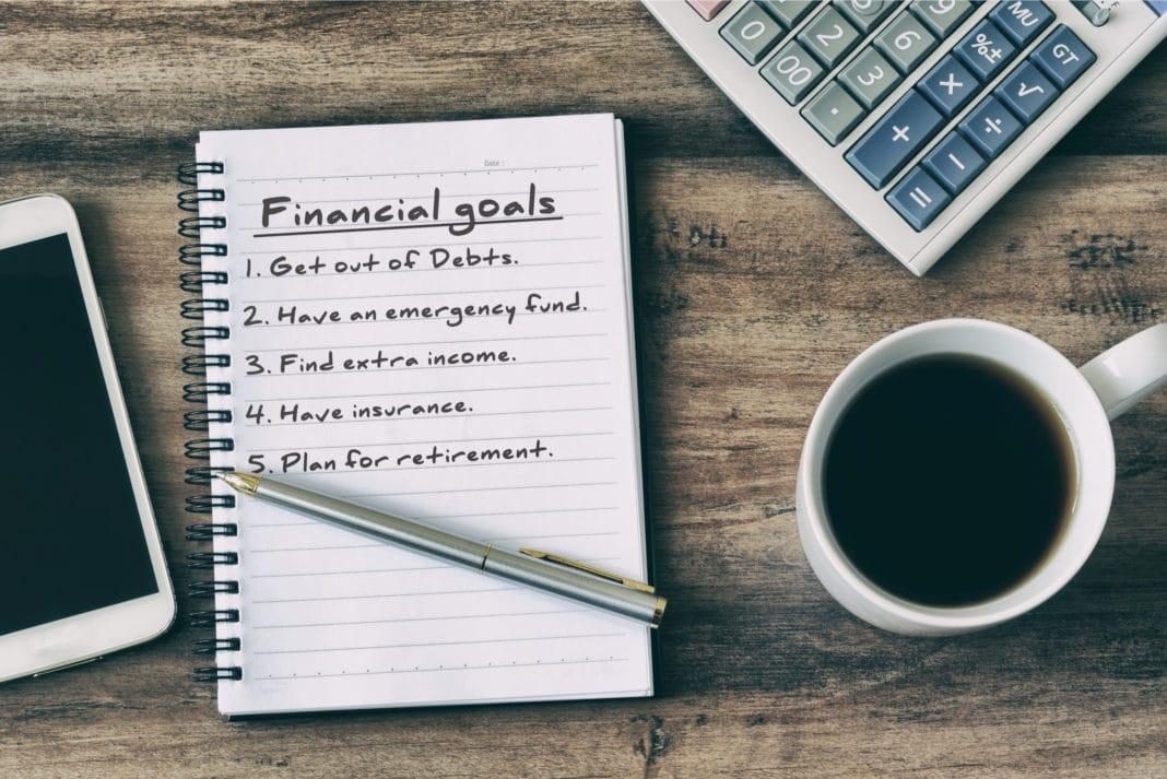 financial-goals-on-a-notebook