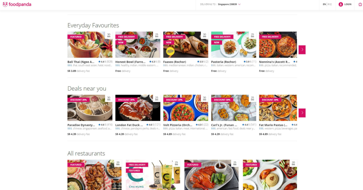 foodpanda just released a list of 22 promo codes with up to $12 discount from 1 - 30 April 2021