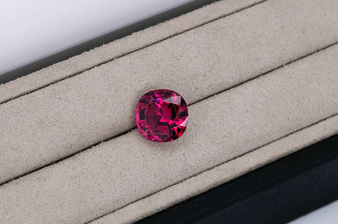 A very rare 10.5-carat Mahenge spinel from Tanzania