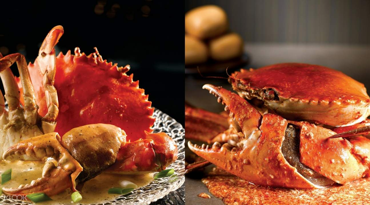 No Signboard Seafood offering 40% off all crabs from 8 May - 20 Jun 21