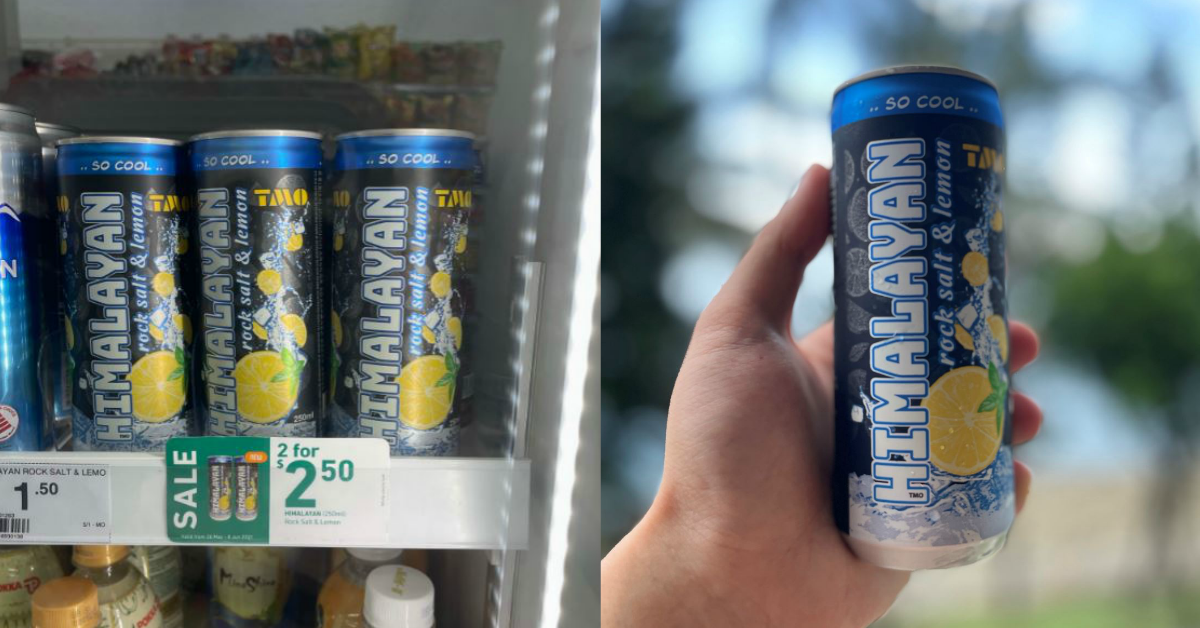 Himalayan Rock Salt & Lemon Drink Now Available At 7-Eleven