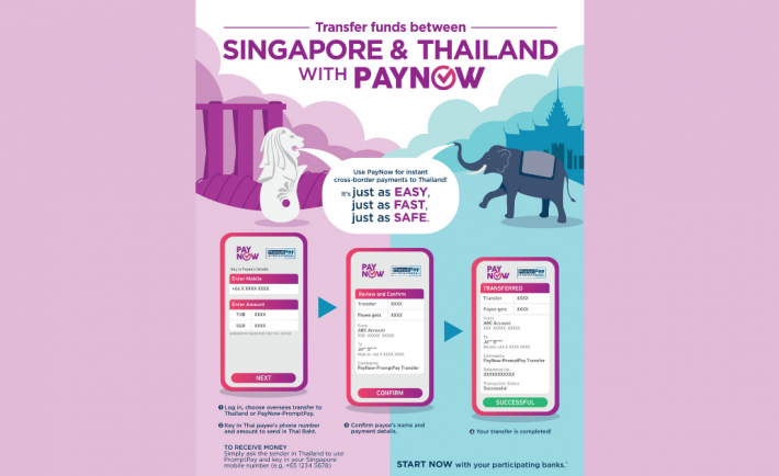 PayNow to Thailand main banner