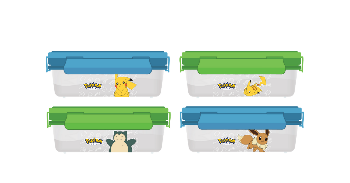 Free Special Edition Pokémon Lunch Box with purchase of Darlie toothpastes