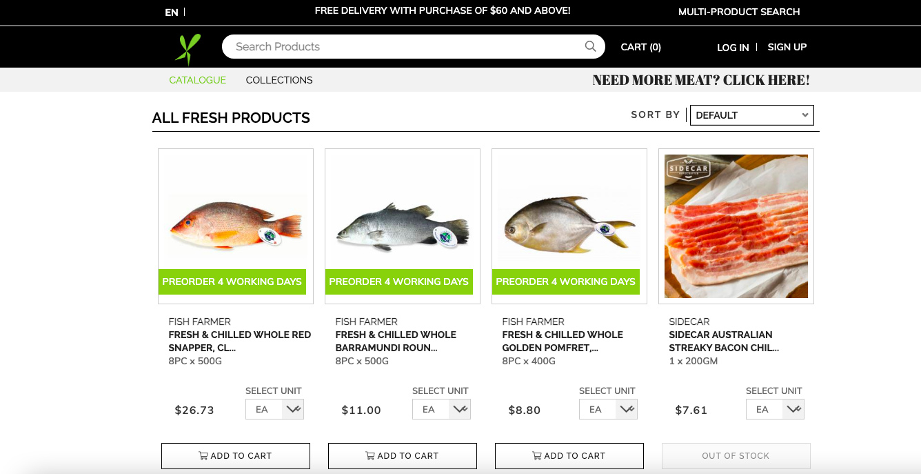 Foodxervices Inc's homepage