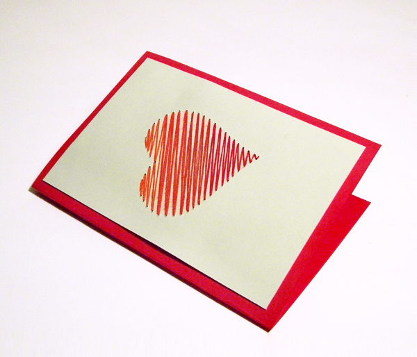 love-stitched card