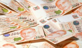$100 Singapore notes