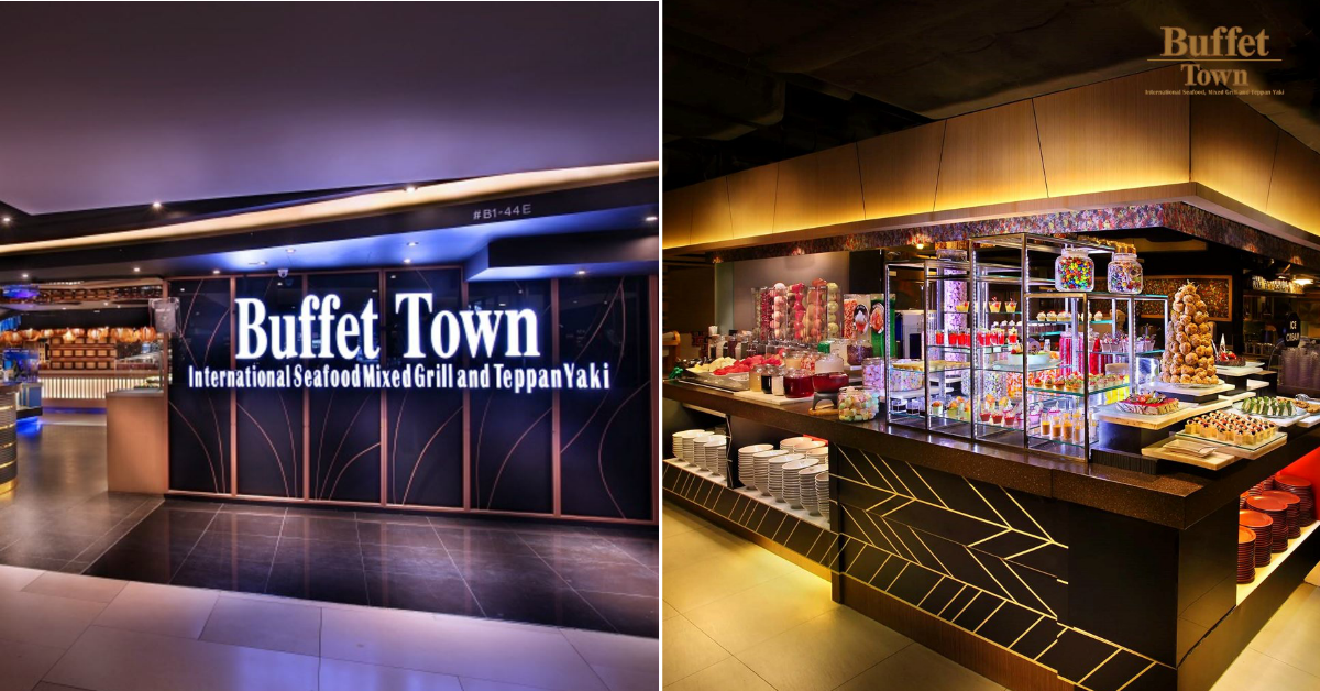 Buffet Town launches 2-for-$55 buffet promo from now till 31 July 2021, so you pay only $27.50 each