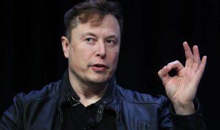 Elon Musk giving an OK sign