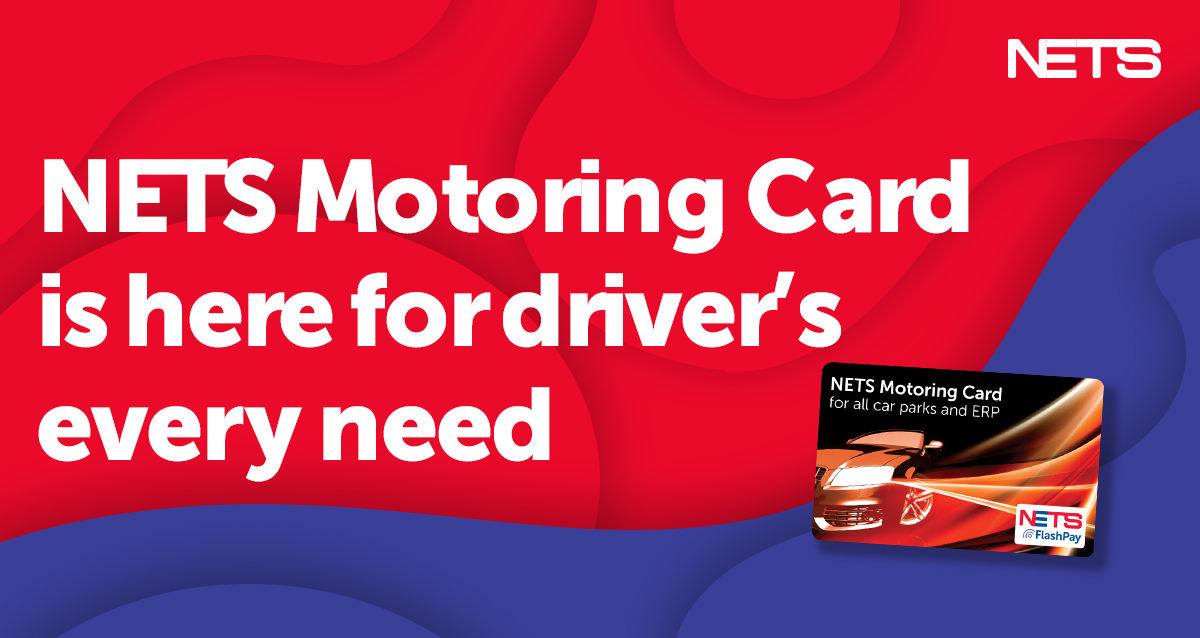 NETS Motoring Card is here for driver's every need