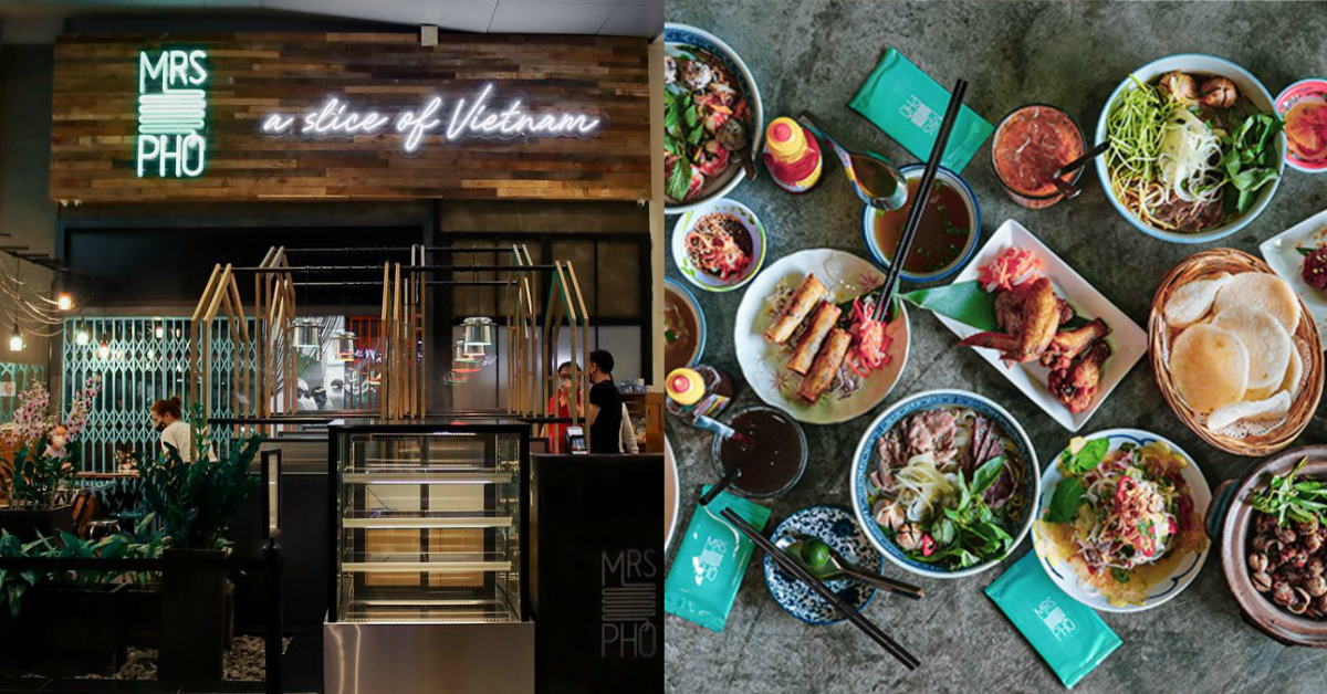 Mrs Pho offering 1-for-1 mains for dine-in and takeaway from 21 - 25 June 2021