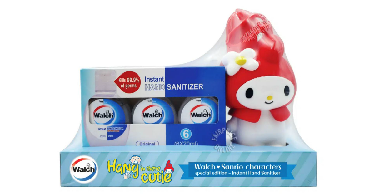 My Melody Hand Sanitisers Now Available At FairPrice Supermarket