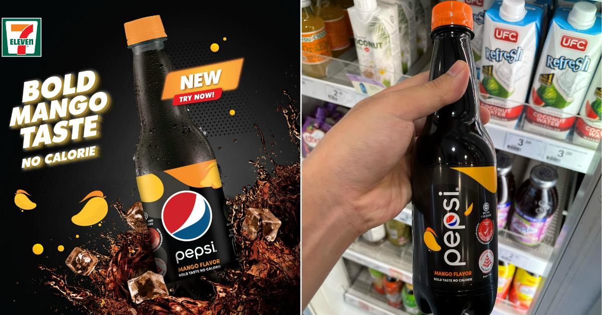 7-Eleven S'pore selling Pepsi Mango at $2.30 a bottle