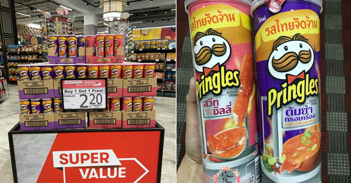 FairPrice VivoCity has 1-for-1 Pringles Potato Chips at $2.20 from now till 30 Jun 21