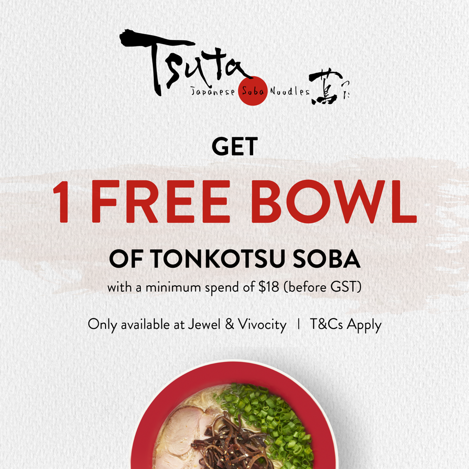 [Dine-In Special] Tsuta offers a FREE bowl of its Michelin-starred Ramen from now till 31 July 2021