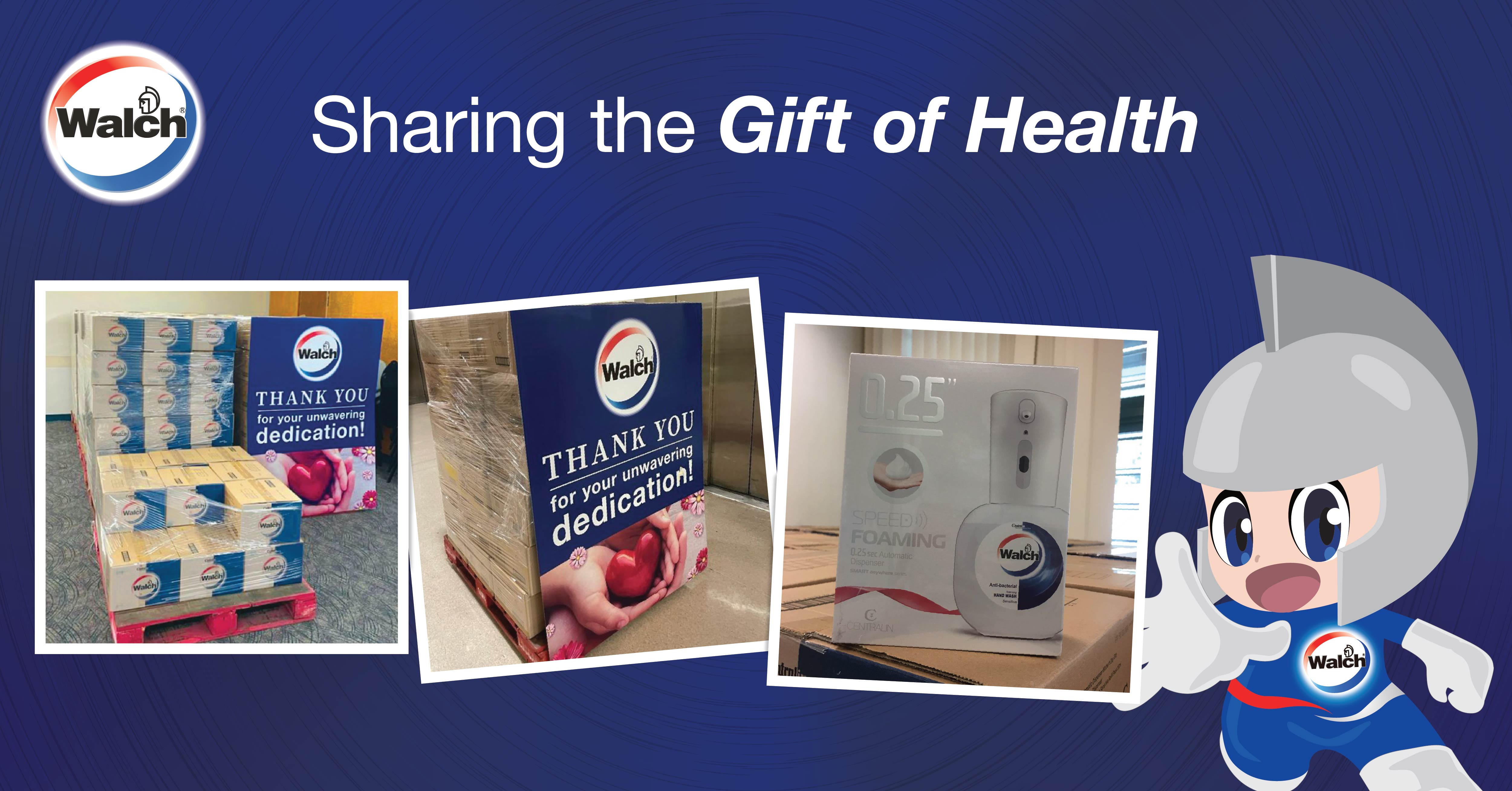 Walch® Singapore Provides our Nurses with the Gift of Health