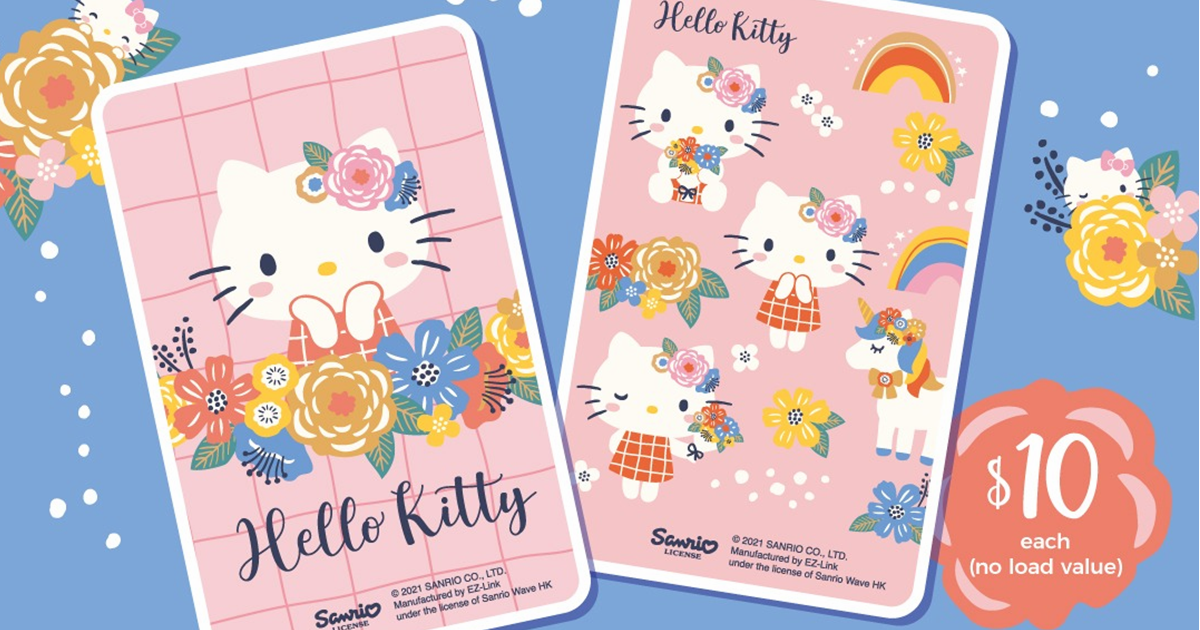 EZ-Link launches new Hello Kitty Ez-link Cards in two designs