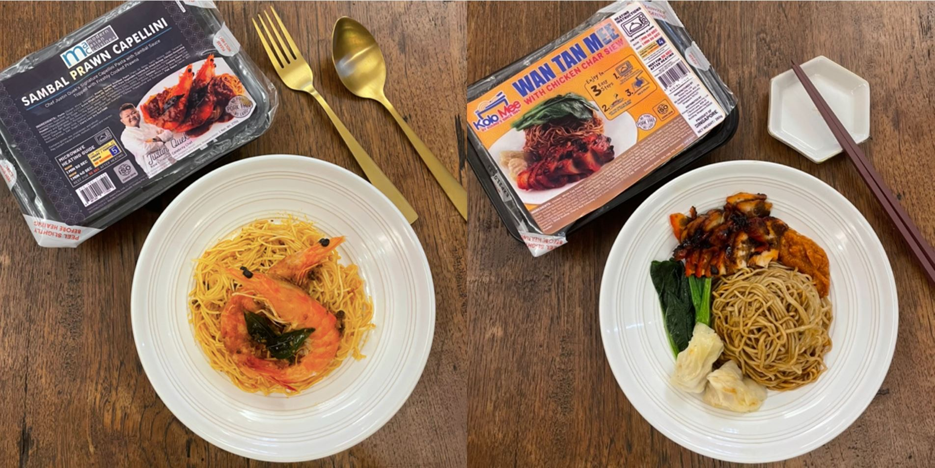 Michelin-starred Les Amis founder, Chef Justin Quek's premium ready-to-eat meals now exclusively available at Cheers & FairPrice Xpress