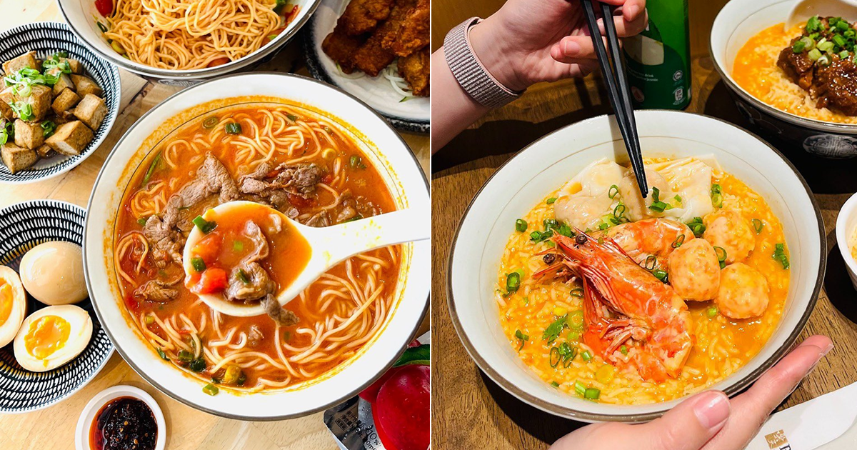 Le Shrimp Ramen Launches Six Different Poached Rice and LeNu Has Yuzu Tomato Broth La Mian For A Limited Time
