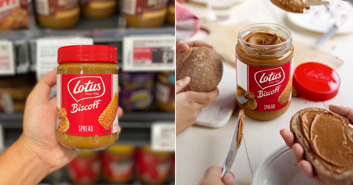 Lotus Biscoff Spread Now Available At Local Supermarkets So You Can Enjoy Your Favourite Biscuit On Your Bread & Toast!