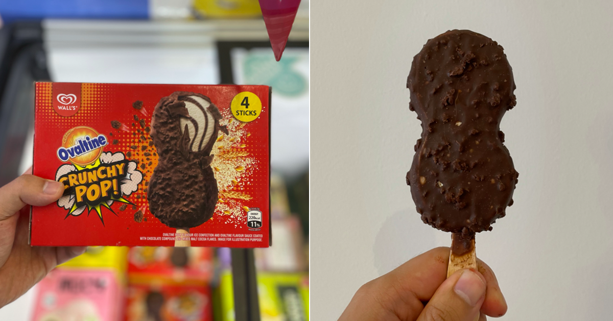 Ovaltine Ice Cream Bar Now Available At Supermarkets