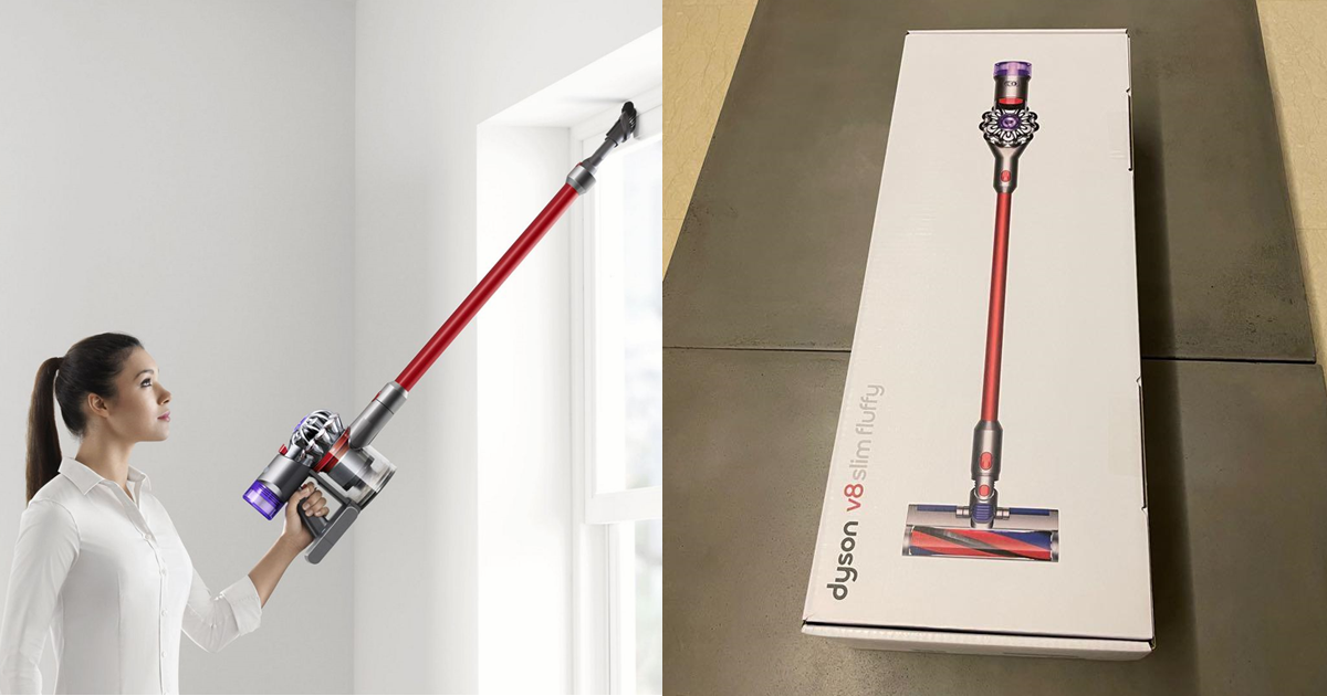 Get a free Dyson V8 Slim Fluffy (worth S$549) from now till 21 July 2021