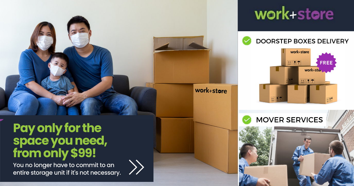 Storage Space & Logistic Mover Service from just $99/month