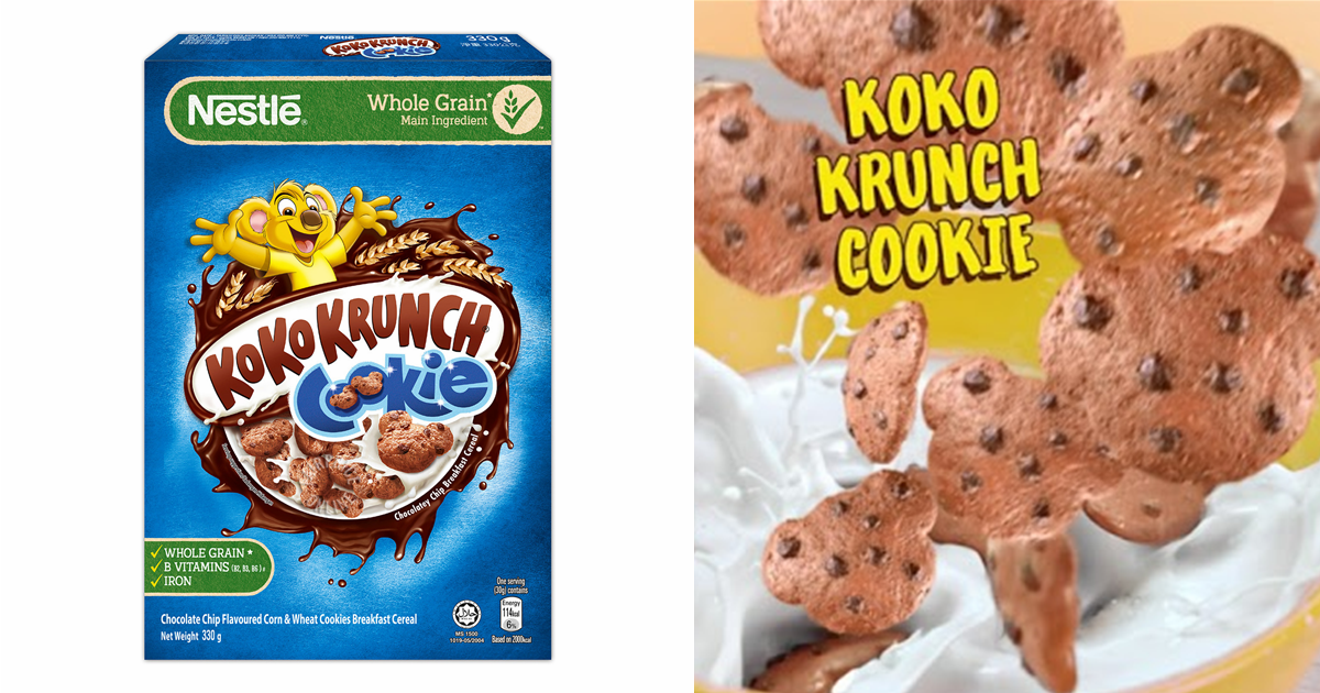 Koko Krunch Cookie is now available so you can have chocolate chip cookies for breakfast